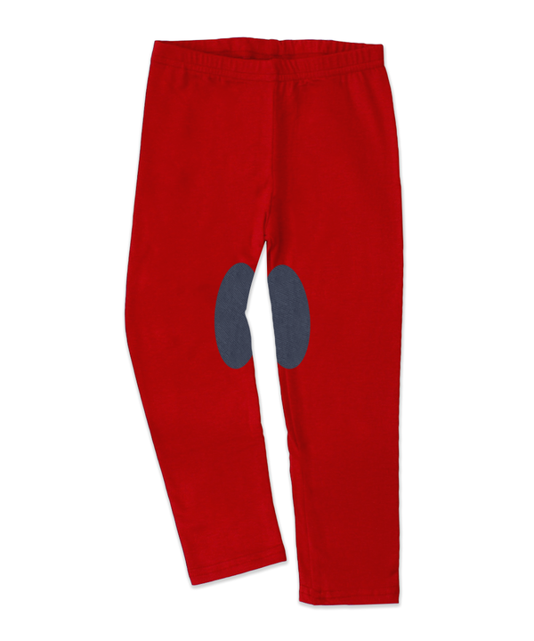 Charly Red Jersey Jodhpur Legging