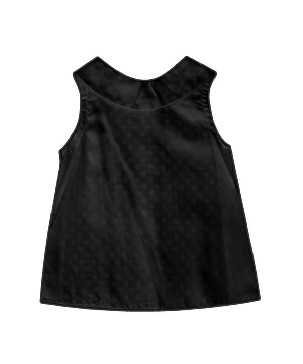 Emma Black Dot Tank
