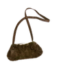 My Grandmothers Brown Faux Fur Purse and Collar