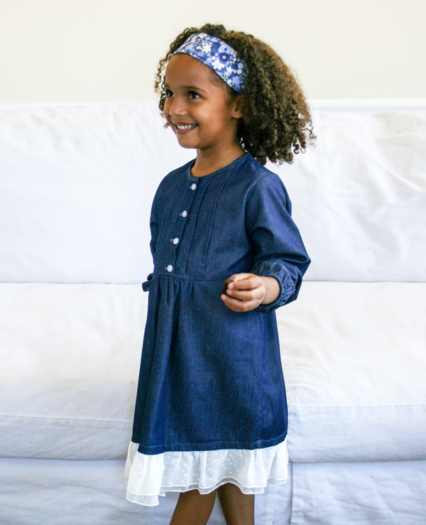 Hazel Denim Tunic Dress