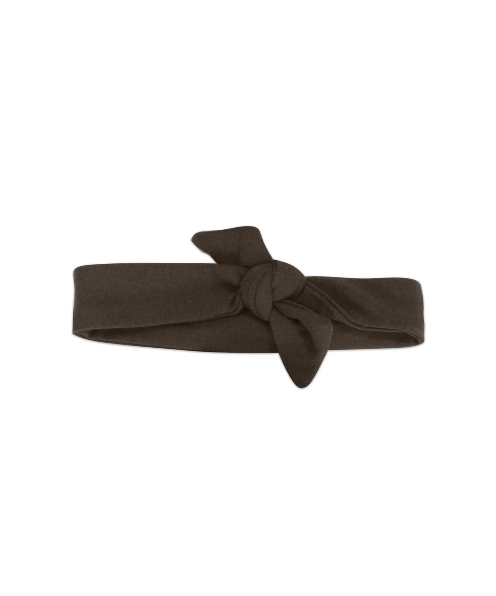 Top Knot Nutella Brown Adjustable Headband