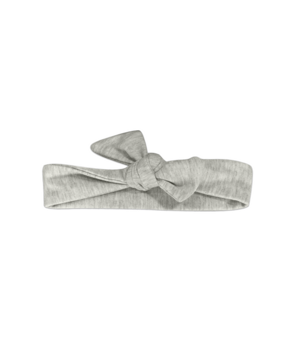 Top Knot Gray Adjustable Headband