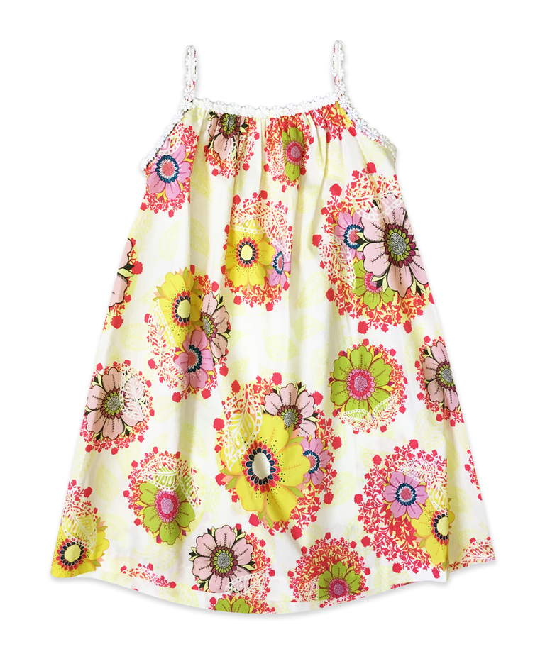 Tara Dress in Light Pink Floral