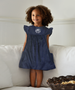 London Navy Corduroy Dress