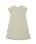 Maggie Oatmeal French Terry A-line Dress