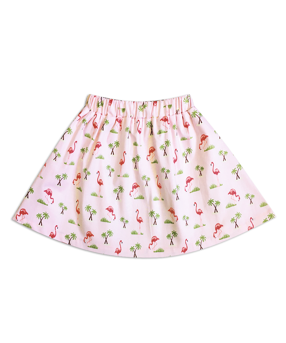 Milly Pink Flamingo Skirt