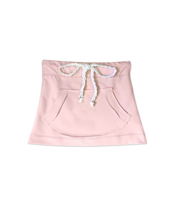 Natalie Skirt Pink French Terry