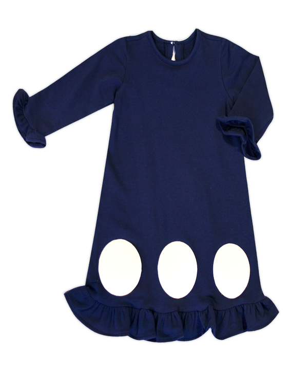 Kate Navy Circle Dress