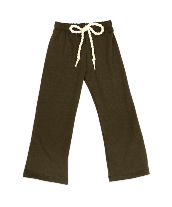 Nikki Chocolate French Terry Pant