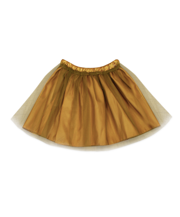 Regan Reversible Gold Tutu Skirt