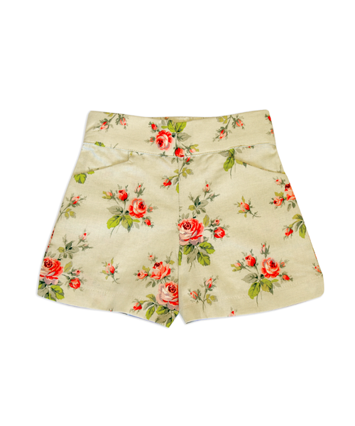 Sandra Rose Floral Shorts