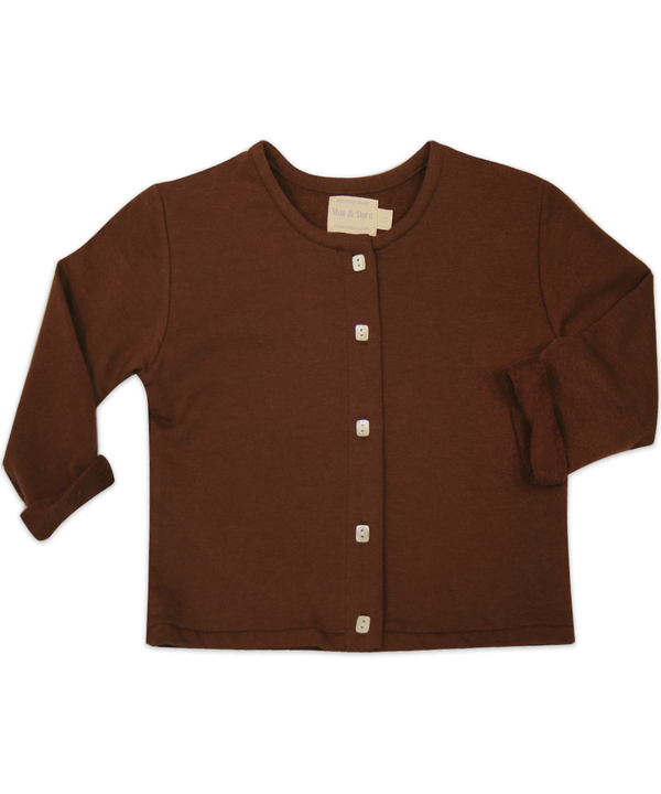 The Sarah Jane L/S Cocoa Cardigan
