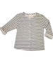 Striped Sarah Jane Cardigan in Cozy Cotton French Terry