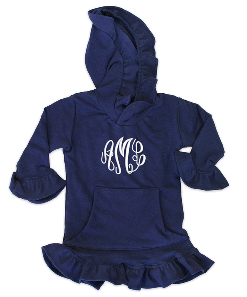 Skylar Navy Hooded Tunic