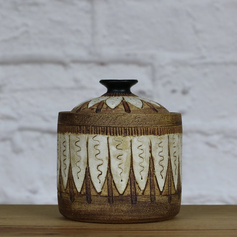 Handpainted Jar Small