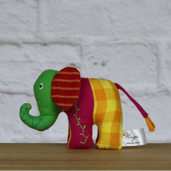 Patchwork Elephant Extra Small