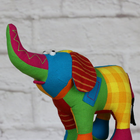 Patchwork Elephant Small