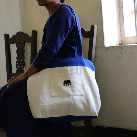 179 Blue Shoulder Bag