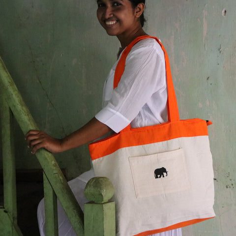 179 Orange Shoulder Bag