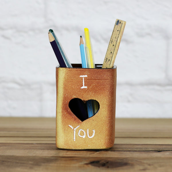 I Love You Ceramic Holder