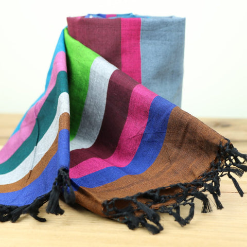 Vibrant colours Scarf