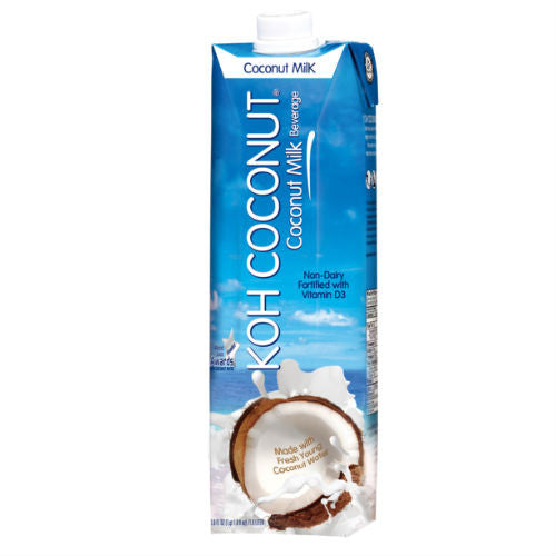 KOH COCONUT Coconut Milk - 33.8 FL. OZ. /1.0 LITER (12 pack)