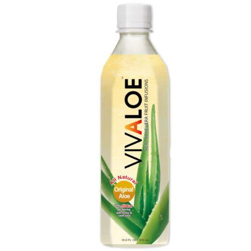 Vivaloe Original Aloe - 16.9 oz (24 Pack)