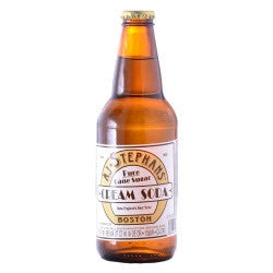 AJ Stephans Cream Soda - 12 oz (12 Pack) - Beverages Direct
