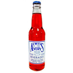 Avery's Red Cream Soda - 12 oz (12 Pack) - Beverages Direct