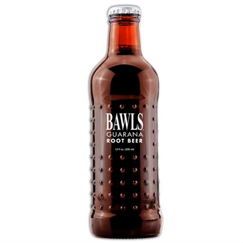 BAWLS Root Beer - 10 oz (12 Glass Bottles)