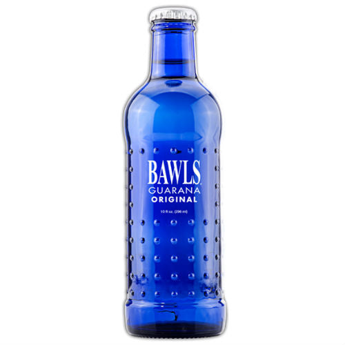 BAWLS Guarana Energy Drink - 10 oz (12 Glass Bottles)