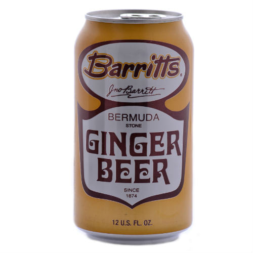 Barritts Bermuda Ginger Beer 12oz Cans