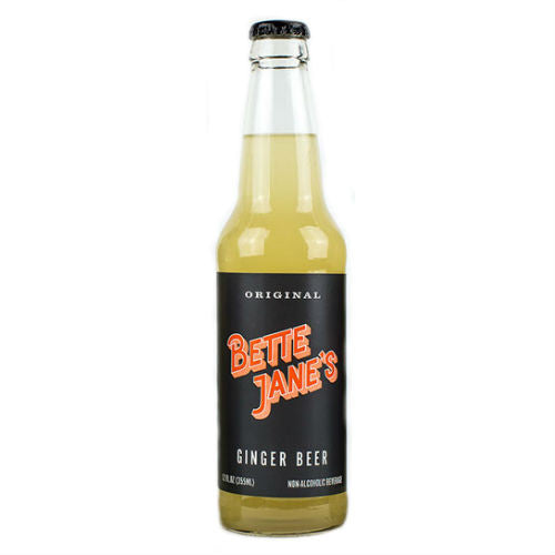 Bette Jane's Original Ginger Beer - 12 OZ (12 Glass Bottles)