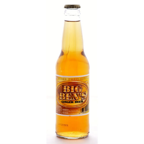 Big Ben's Ginger Beer Soda - 12 OZ (12 Glass Bottles)