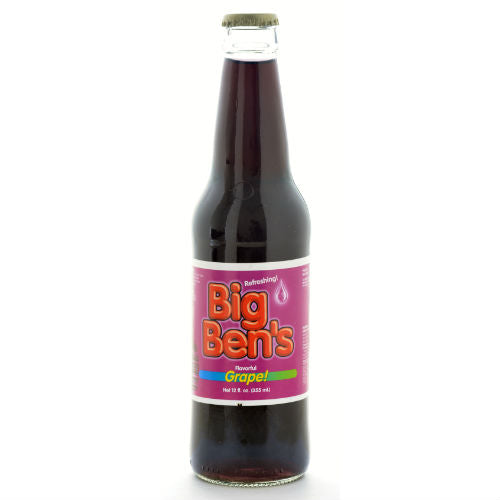 Big Ben's Grape Soda - 12 OZ (12 Glass Bottles)