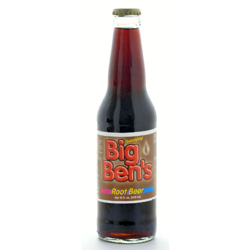 Big Ben's Root Beer - 12 OZ (12 Glass Bottles)