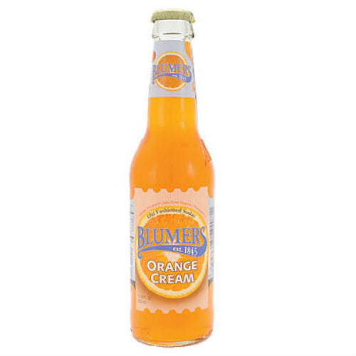 Blumers Orange Cream - 12 oz (12 Glass Bottles)