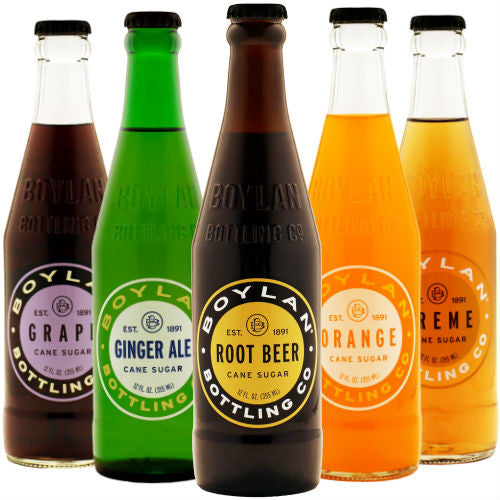 Boylan Bottleworks Assorted - 12oz (12 Glass Bottles)