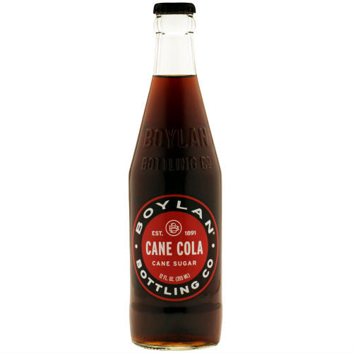 Boylan Bottleworks Sugar Cane Cola - 12 oz (12 Glass Bottles)