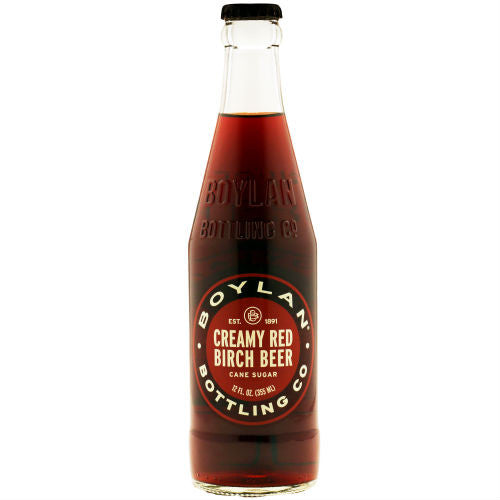 Boylans Creamy Red Birch Beer - 12 oz (12 Glass Bottles)