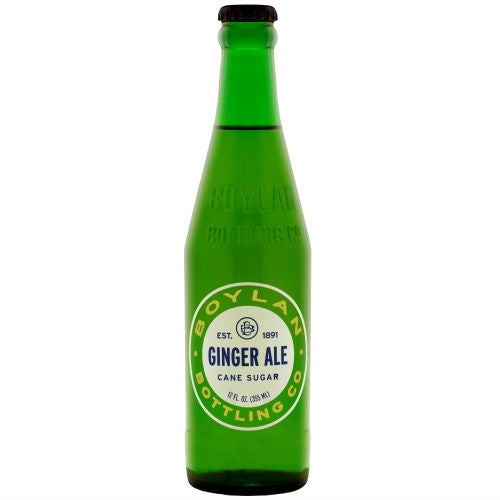 Boylan Bottleworks Ginger Ale - 12oz (12 Glass Bottles)