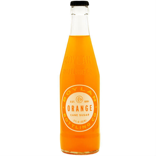 Boylan Bottleworks Orange Soda - 12 oz (12 Glass Bottles)