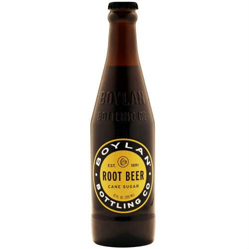 Boylan Bottleworks Root Beer - 12 oz (12 Glass Bottles)
