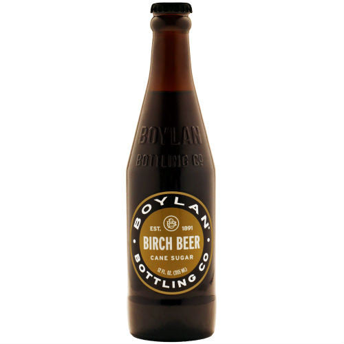 Boylans Original Birch Beer - 12 oz (12 Glass Bottles)