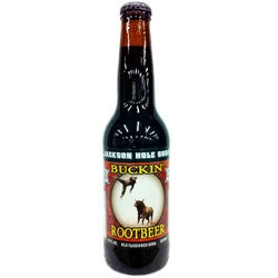 Buckin' Root Beer from Jackson Hole - 12 oz (12 Pack) - Beverages Direct