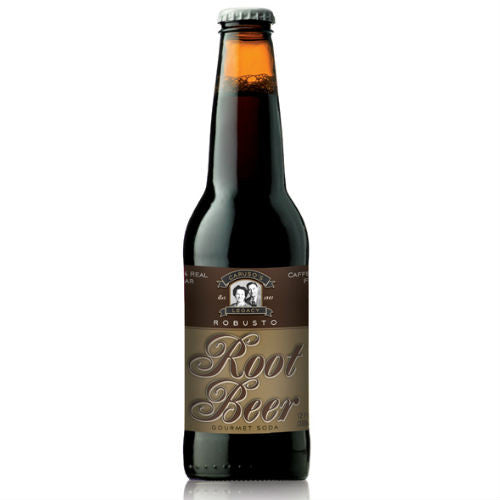 Caruso's Robusto Root Beer - 12 oz (12 Pack)