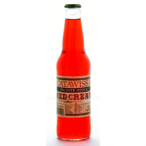 Catawissa Red Cream Soda - 12 oz (12 Glass Bottles)