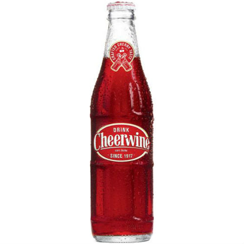 Cheerwine Soda - 12 oz (12 Glass Bottles)