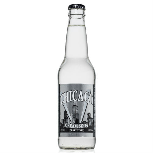Chicago Draft Style Cream Soda - 12 oz (12 Glass Bottles)