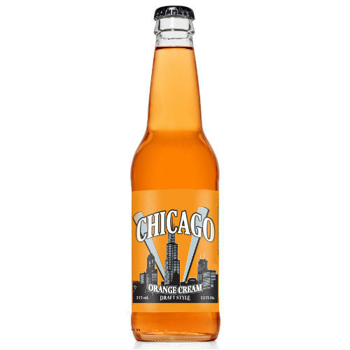 Chicago Draft Style Orange Cream - 12 oz (12 Glass Bottles)